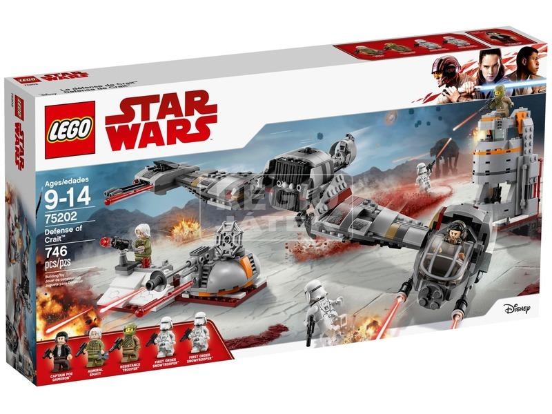 LEGO® Star Wars Crait védelme 75202