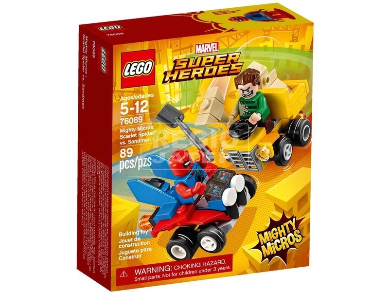 LEGO® Super Heroes Skarlát Pók és Homokember 76089