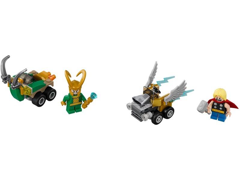 kép nagyítása LEGO® Super Heroes Thor és Loki 76091