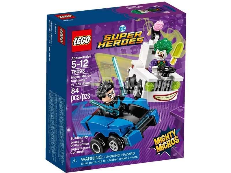LEGO® Super Heroes Éjszárny™ és Joker™ 76093