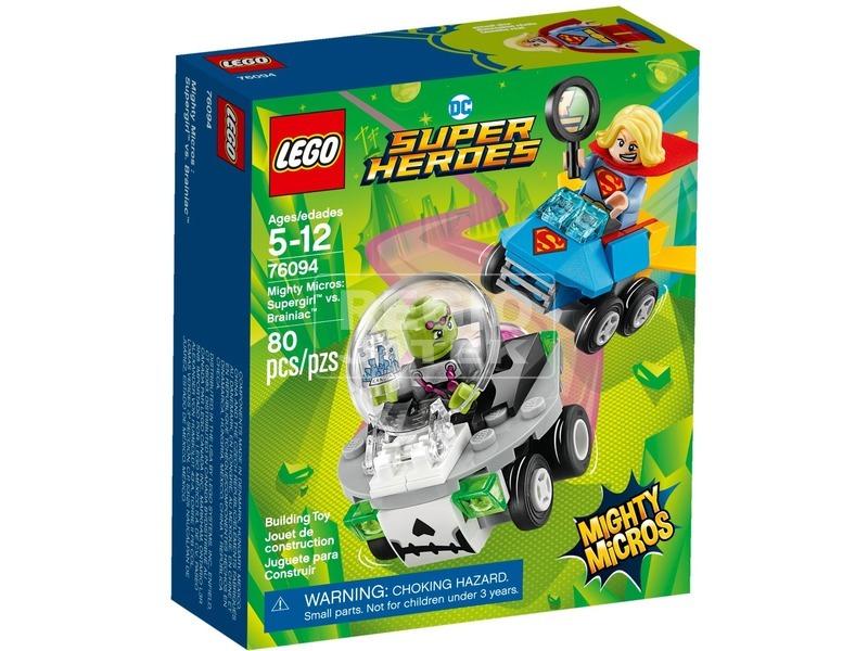 LEGO® Super Heroes Supergirl™ és Brainiac™ 76094