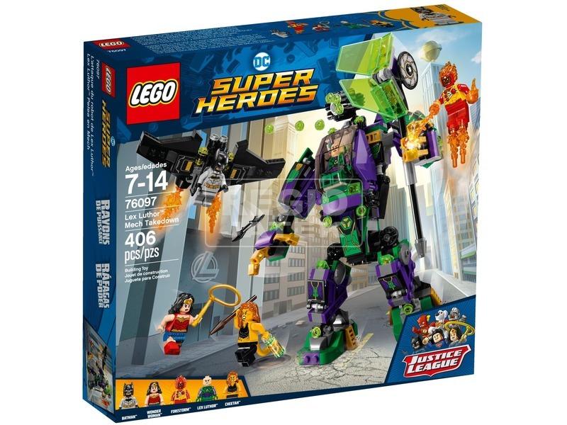 LEGO® Super Heroes Lex Luthor™ támadása 76097