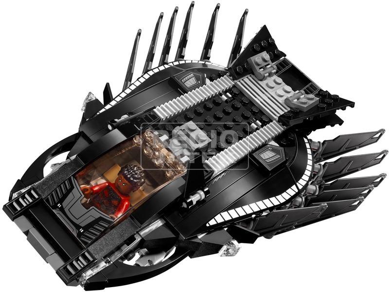 kép nagyítása LEGO® Super Heroes Fekete Párduc járműve 76100