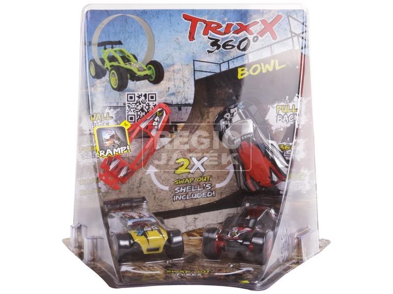 kép nagyítása Trixx 360 autó 2 darabos, rámpával - többféle