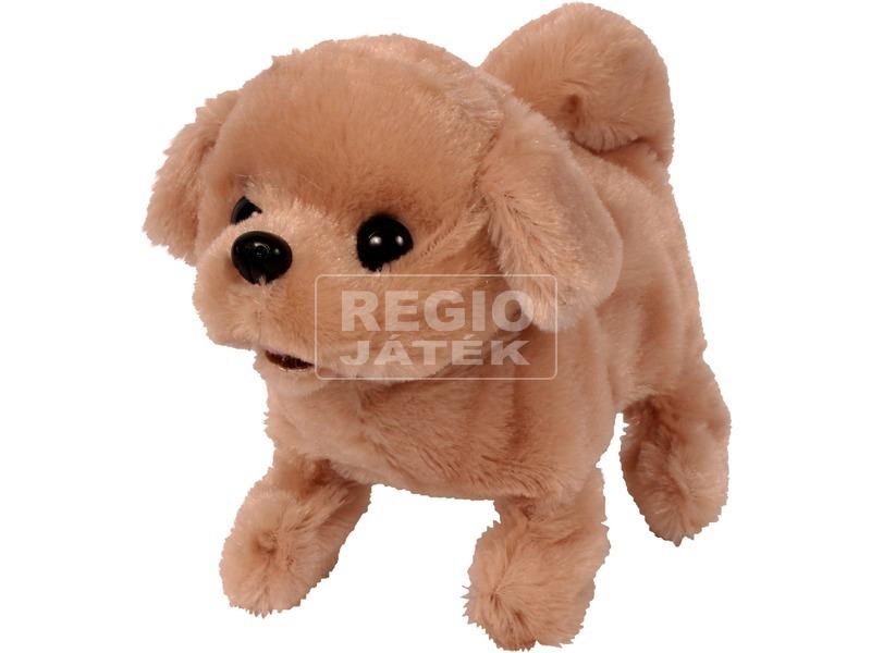 kép nagyítása Sétáló Golden retriever kutyus - 20 cm
