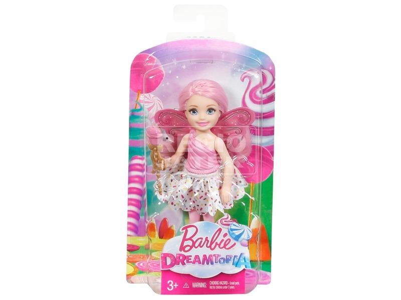 kép nagyítása Barbie: Dreamtopia tündér baba - 15 cm, többféle