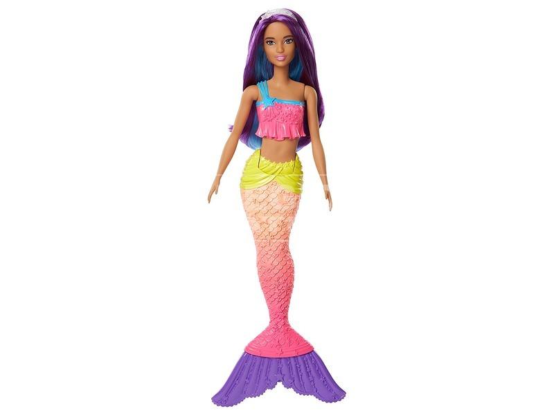 kép nagyítása Barbie: Dreamtopia sellő baba - 29 cm, többféle