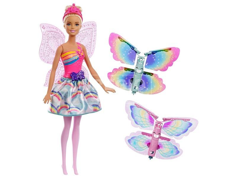 Barbie Dreamtopia pillangószárnyú tündér FRB