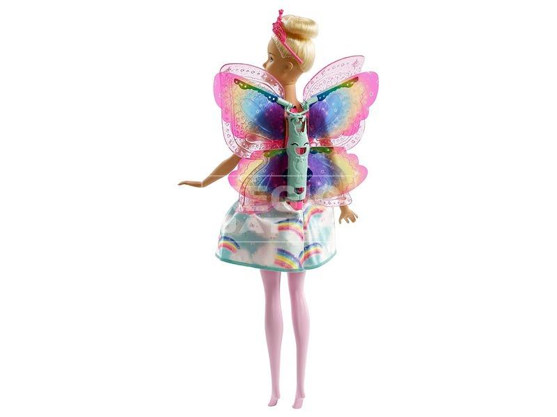 kép nagyítása Barbie Dreamtopia pillangó tündér baba - 29 cm