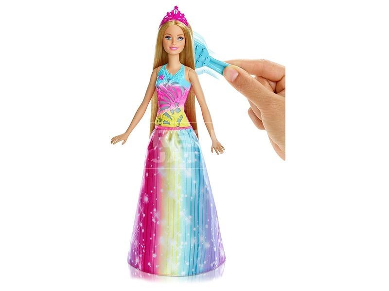 kép nagyítása Barbie Dreamtopia hercegnő fésűvel - 29 cm