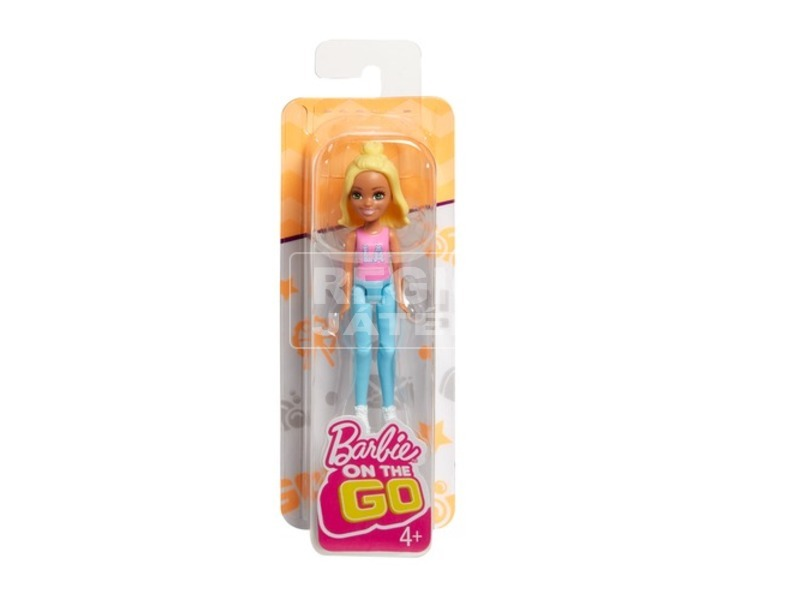 kép nagyítása Barbie: On the Go baba - 10 cm, többféle