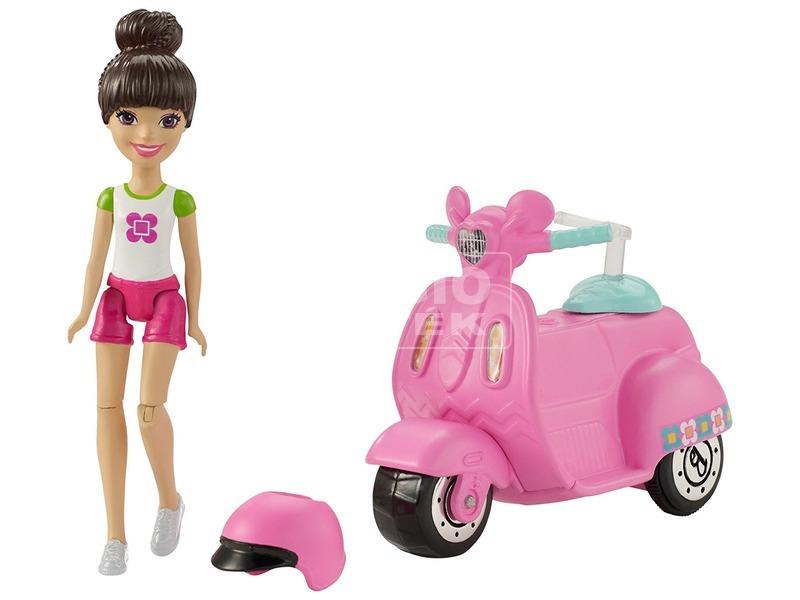 kép nagyítása Barbie: On the Go baba járművel - 10 cm, többféle