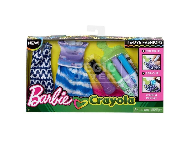kép nagyítása Barbie: Crayola ruhaszínező ruha - többféle