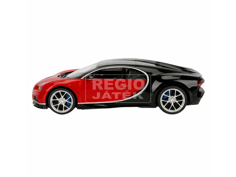 kép nagyítása Bugatti Chiron távirányítós autó - fekete, 1:14