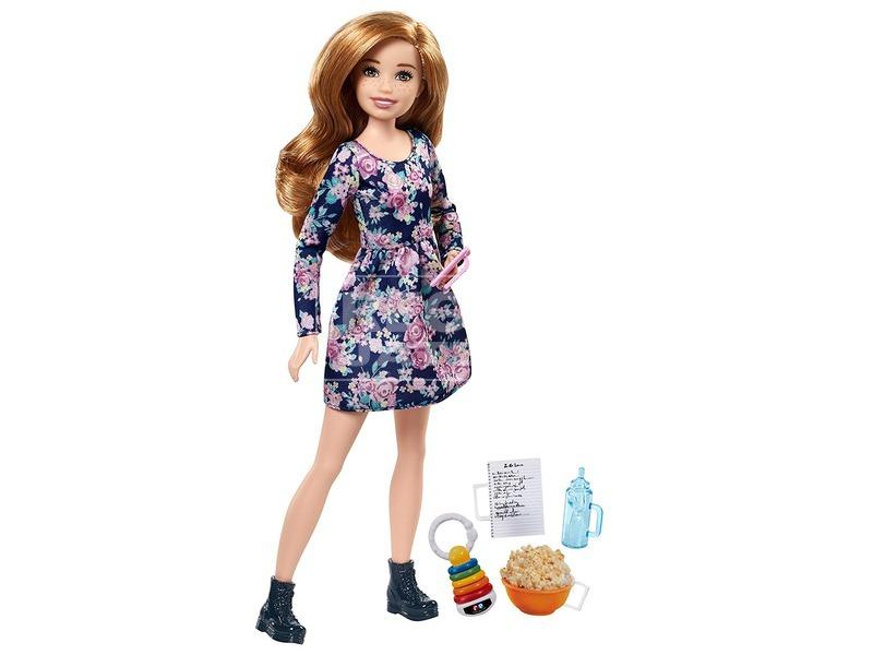 kép nagyítása Barbie: bébiszitter baba - 29 cm, többféle