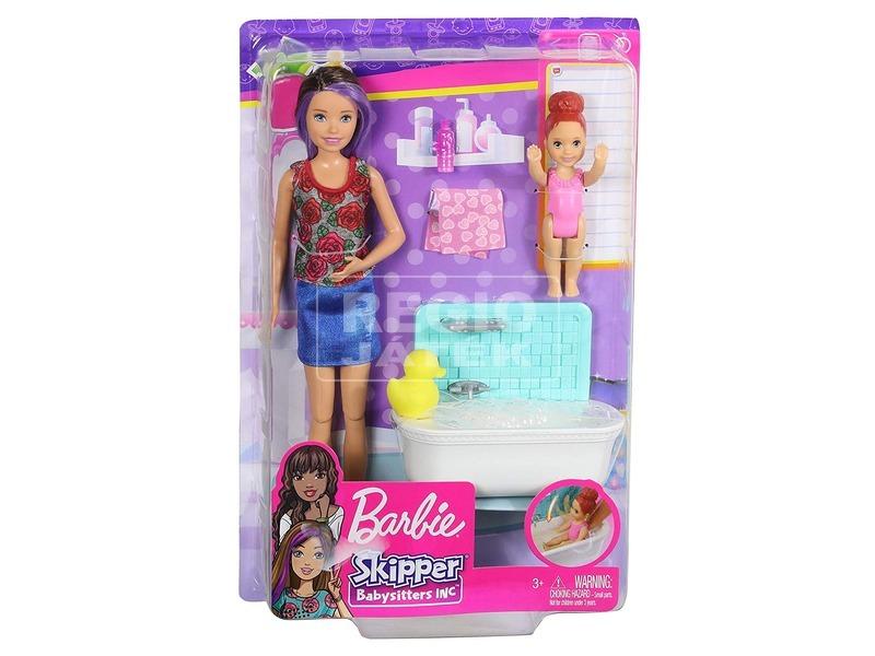 Barbie: bébiszitter játékkészlet - 29 cm, többféle