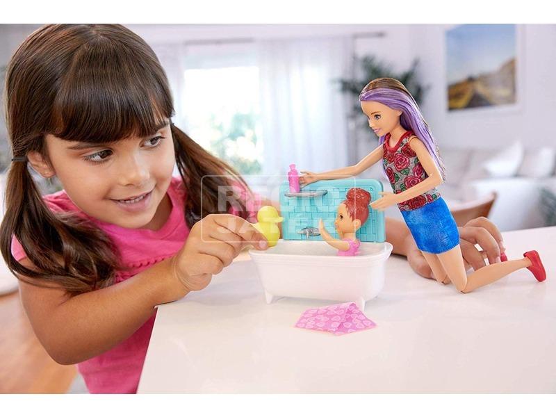 kép nagyítása Barbie: bébiszitter játékkészlet - 29 cm, többféle