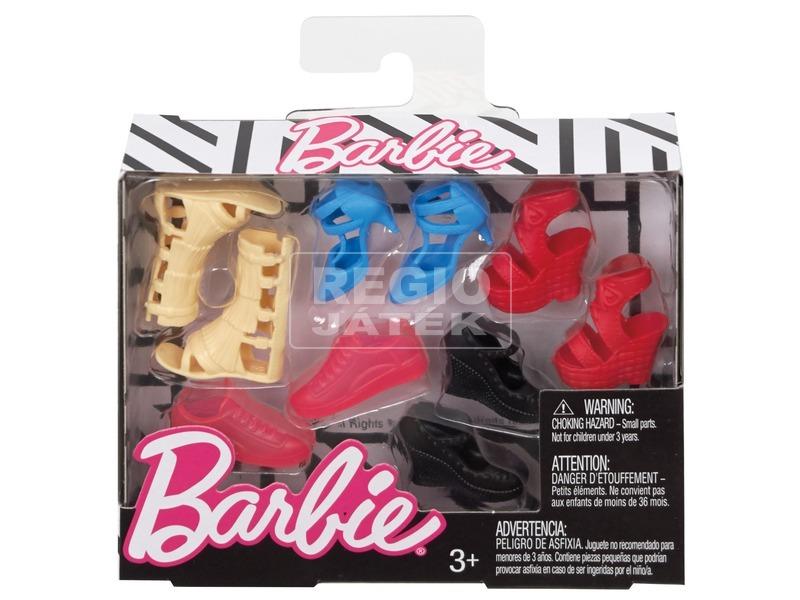 kép nagyítása Barbie: divatos cipő készlet - többféle