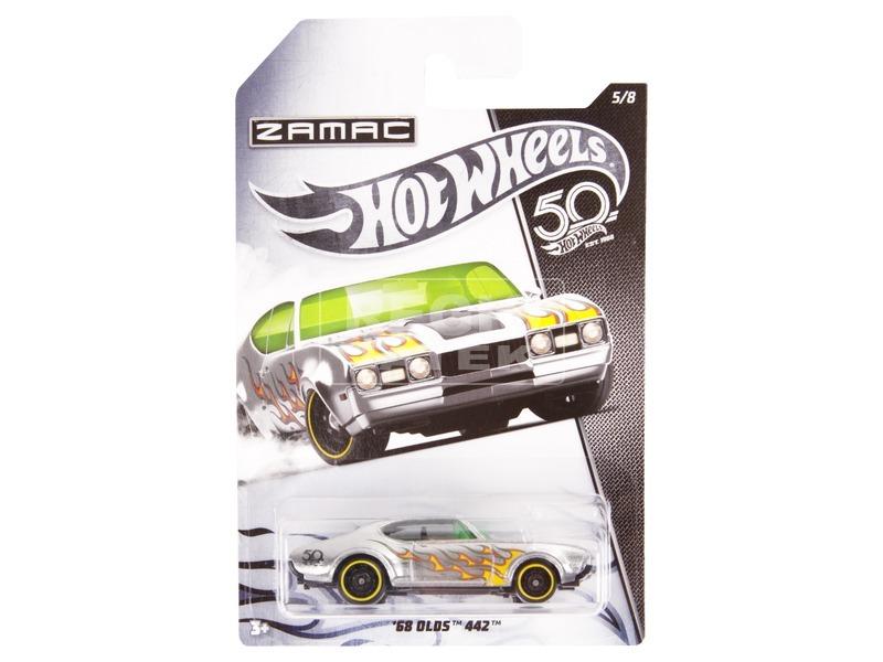 Hot Wheels 50. szülinapi kisautó - többféle