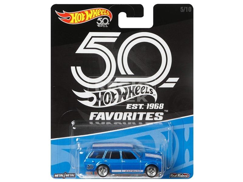 Hot Wheels 50 éves szülinap kisautó - többféle