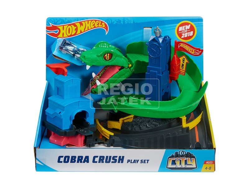 Hot Wheels kobratámadás versenypálya