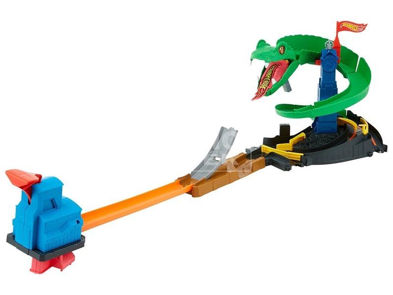 kép nagyítása Hot Wheels kobratámadás versenypálya