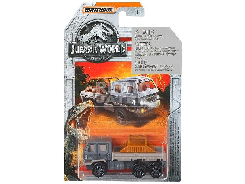 Matchbox Jurassic World kisautó - 1:64, többféle