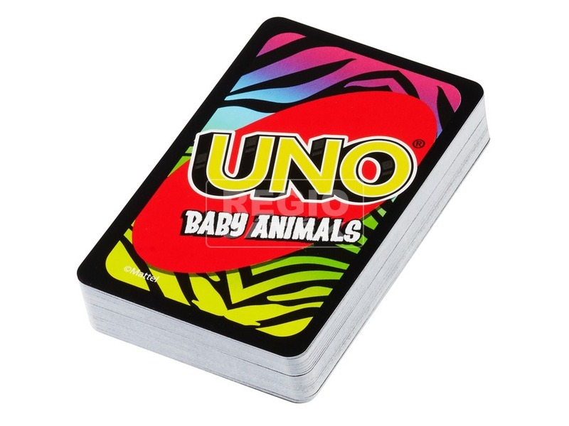 Állatkölykös Uno kártya FLK