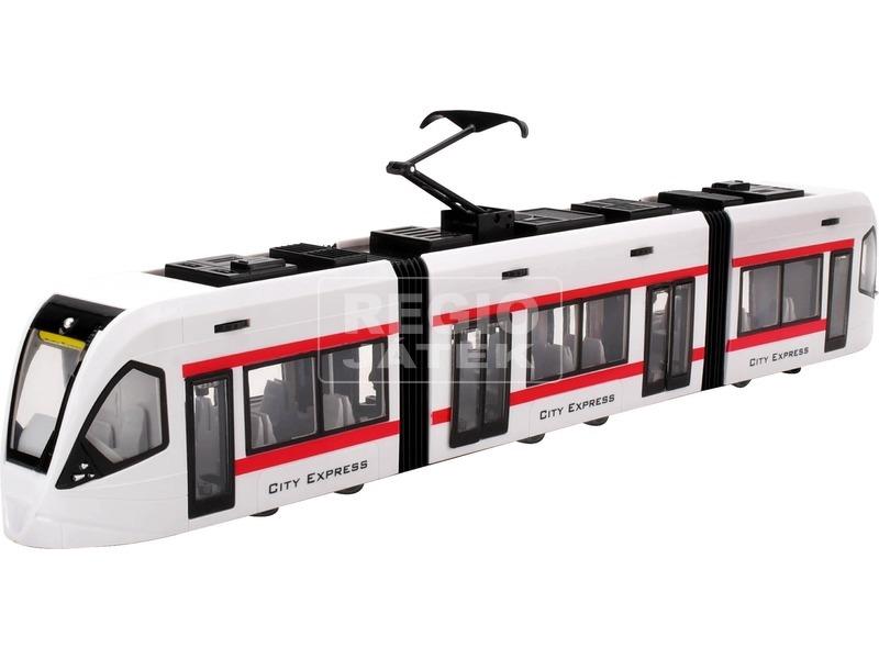 City Express villamos - fehér