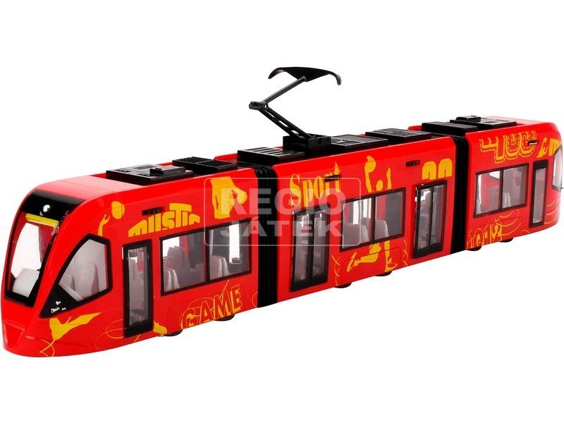 City Express villamos - piros
