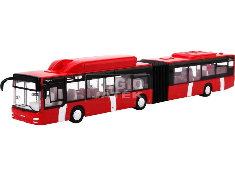 MAN városi autóbusz - piros, 1:43