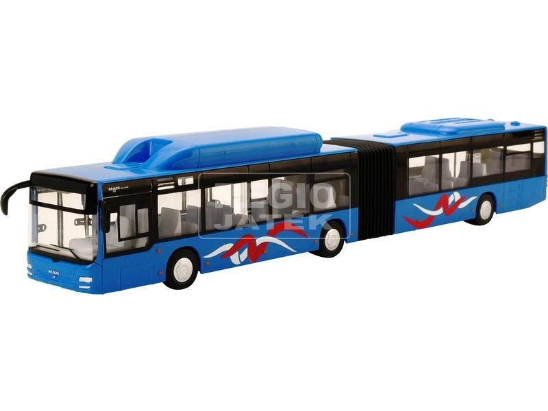 MAN városi autóbusz - kék, 1:43
