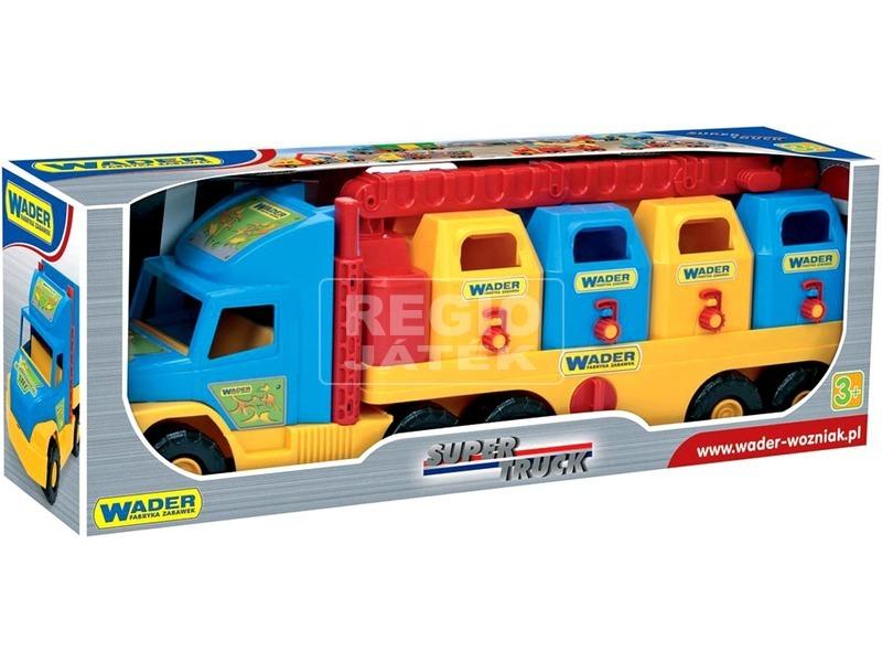 Wader Super Truck szelektív szemétgyűjtő kamion
