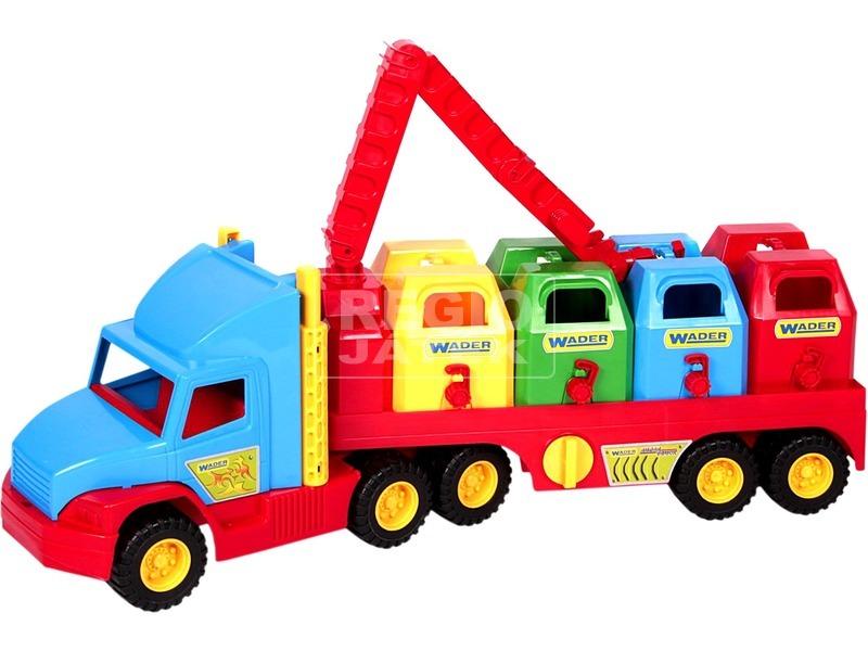 kép nagyítása Wader Super Truck szelektív szemétgyűjtő kamion