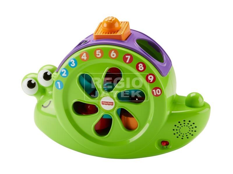 Fisher-Price zenélő csigabiga bébijáték