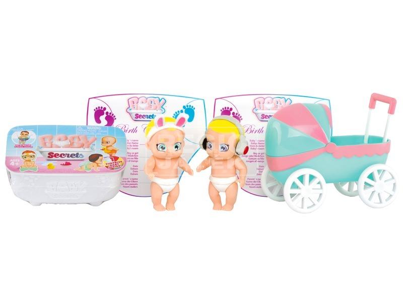 kép nagyítása Baby Secrets baba babakocsis készlet