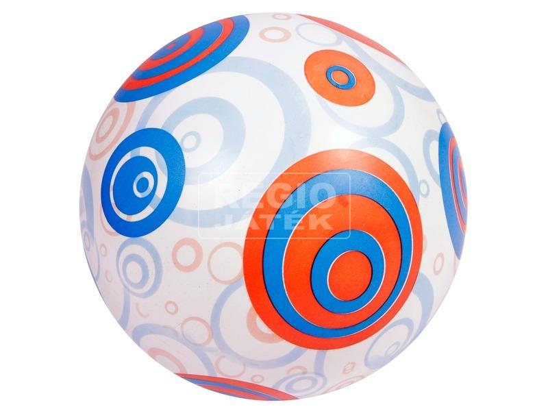 Karikás labda - 22 cm, többféle