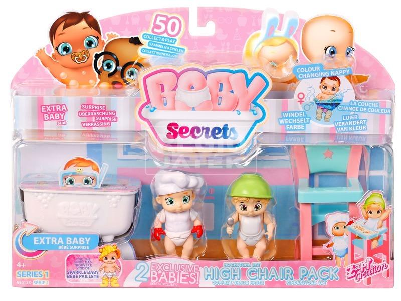 Baby Secrets baba etetőszékes készlet