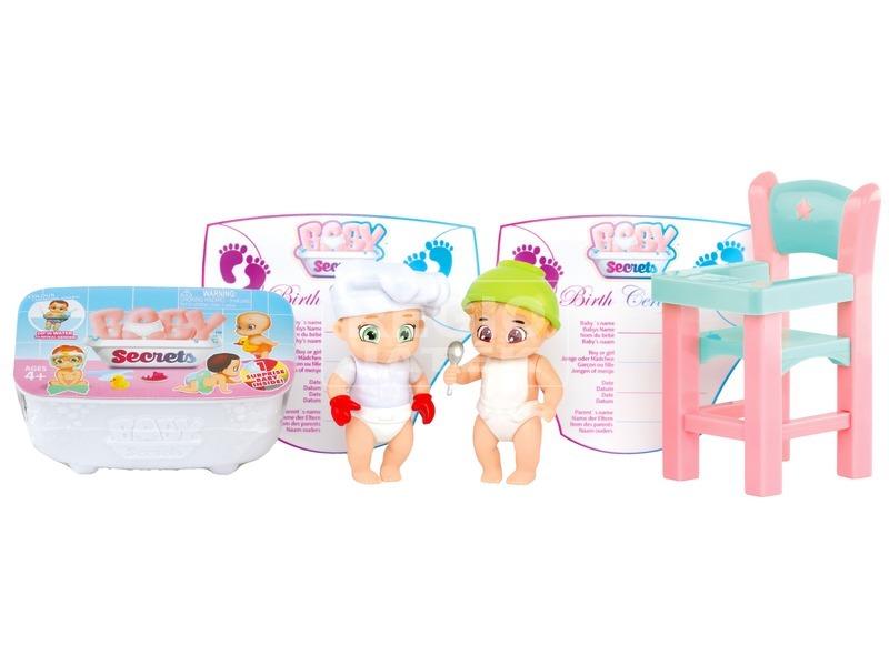 kép nagyítása Baby Secrets baba etetőszékes készlet