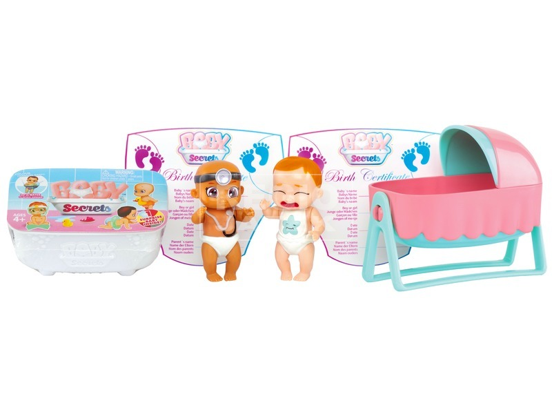 kép nagyítása Baby Secrets baba bölcső készlet