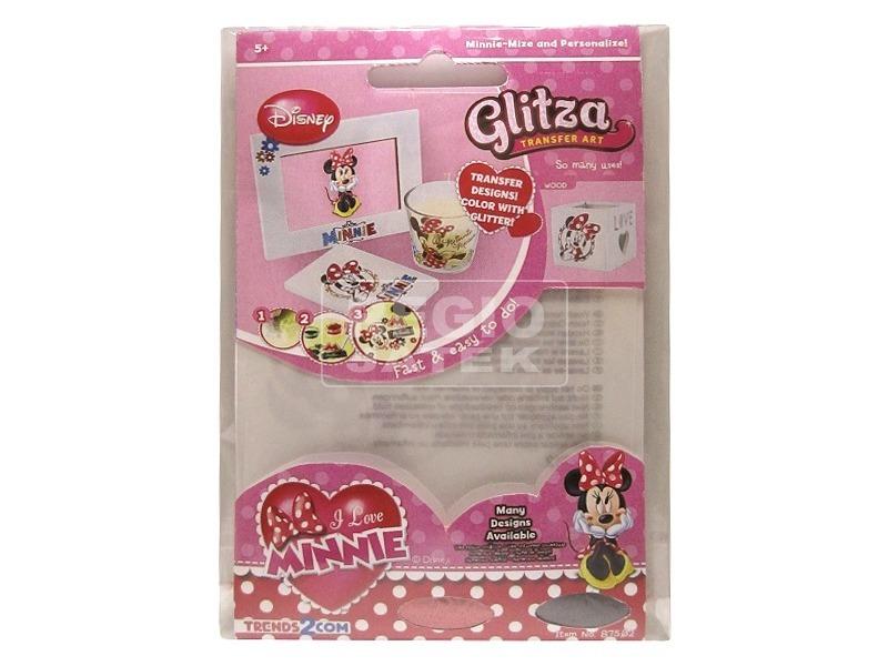 Glitza Minnie egér csillámtetkó - kis csomag