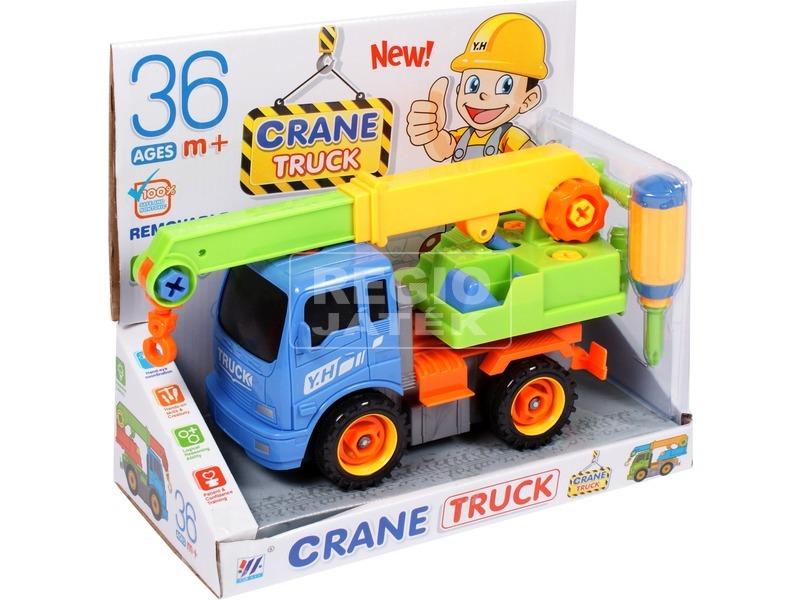 kép nagyítása Szerelhető teherautó - többféle