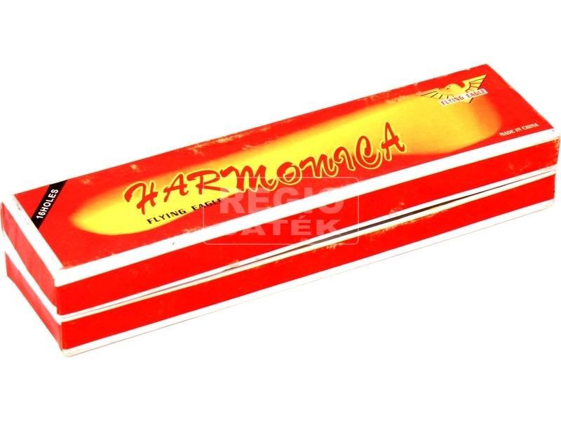 Fém szájharmonika - 14 cm, többféle