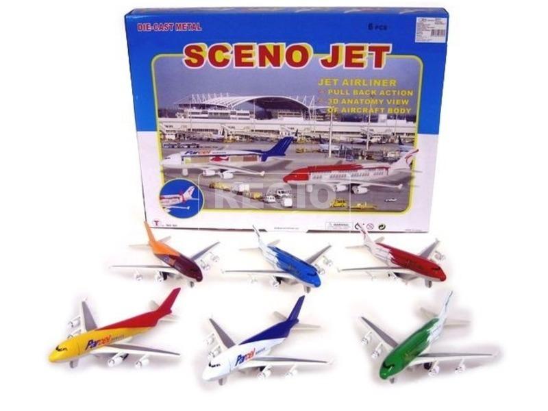 Sceno Jet szállító repülőgép - 20 cm, többféle