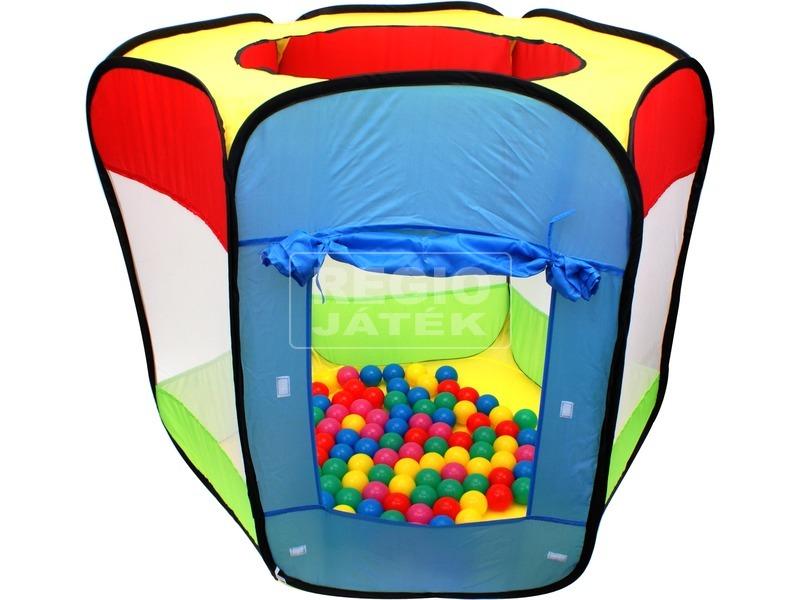 kép nagyítása Hatszögletű játszóház labdákkal