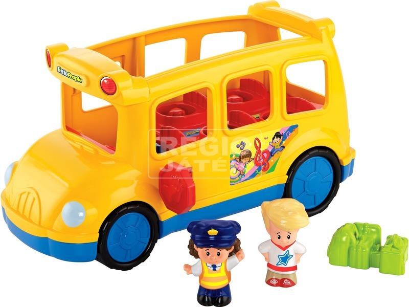 Little People fecsegő iskolabusz