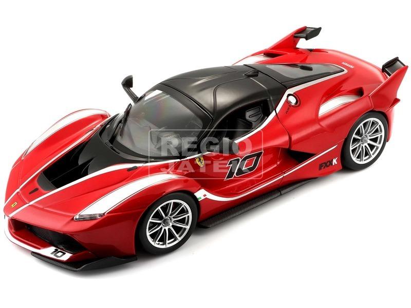 kép nagyítása Bburago Ferrari FXXK versenyautó 1:24