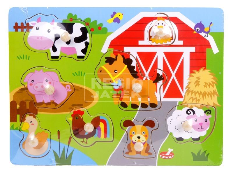Fa bébipuzzle 3 féle