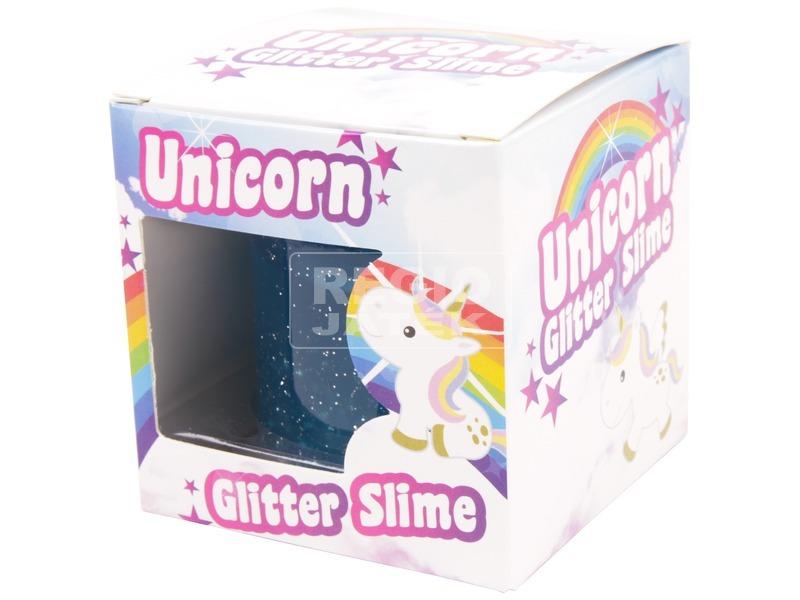 Unikornis csillogó slime készlet - többféle
