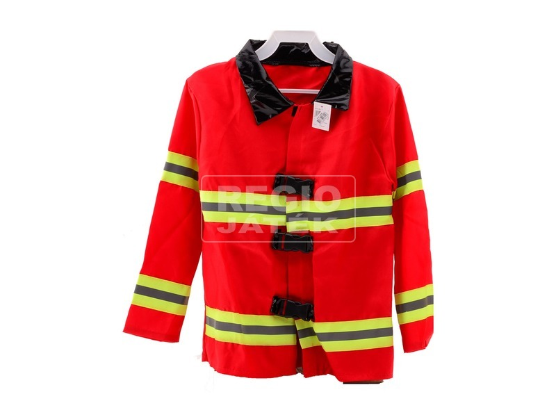 Tűzoltó kabát láthatósági csíkkal - univerzális méret